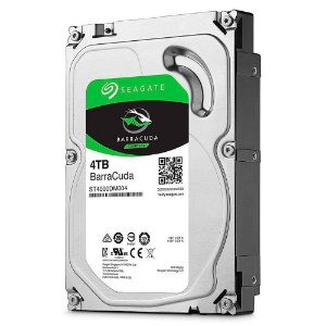 "HD PC 3.5"" SATA3 4TB Barracuda - Seagate"