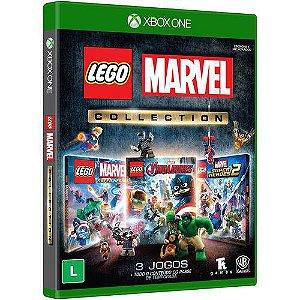 Jogo Lego Marvel Collection Xbox One Blu-ray - Warner