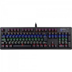 Teclado Gamer Mecânico K5 RGB Preto FORTREK