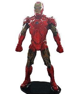 Colecionável Marvel Homem de Ferro (Escala 1:10) Resina