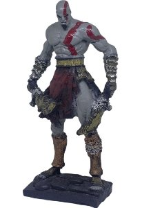 Colecionável Kratos God of War (Escala 1:10) Resina