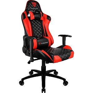 Cadeira Gamer TGC12 Preta/Vermelha - ThunderX3