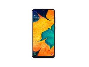 """Smartphone Samsung A30 64GB, A305GT/6DL, Câmera traseira Dupla 16 + 5MP e Frontal 16MP Tela 6.4 """", RAM 4GB - Preto Sim"""