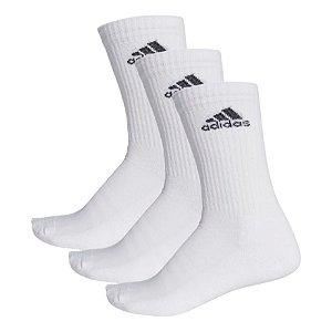 Meia Adidas Crew Cushion 3S Kit c/ 3 pares