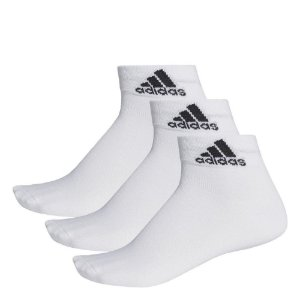 Meia Adidas Ankle Mid Thin cano curto - 3 Pares