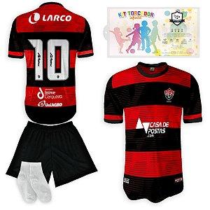 Kit Torcedor Infantil Time Vitoria Listrada 2021-22 Réplica