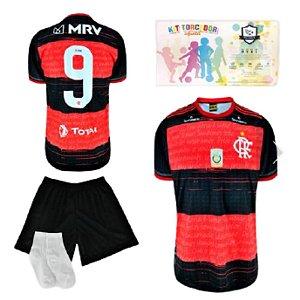 Kit Torcedor Infantil Réplica do Flamengo da SPR 2021-22