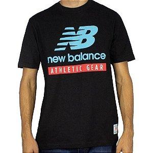Camiseta New Balance Essentials Logo Masculina