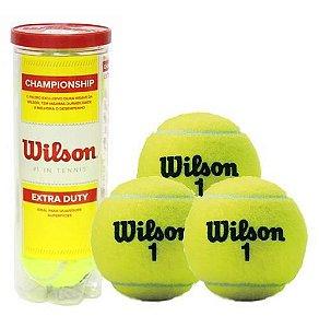 Tubo Com 3 Bolas De Tênis Championship - Wilson