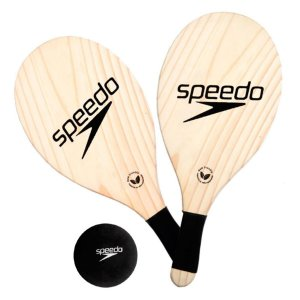 Kit Raquete Popular Racket Frescobol Speedo
