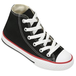 Tênis Converse All Star Chuck Taylor As Core HI Cano Alto Infantil