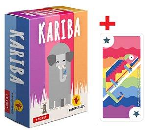 Kariba + Carta Promocional Camaleão