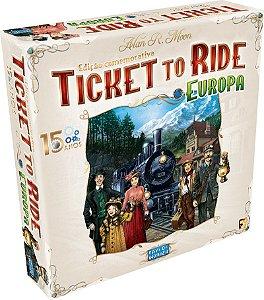 Ticket to Ride Europa - 15 Anos