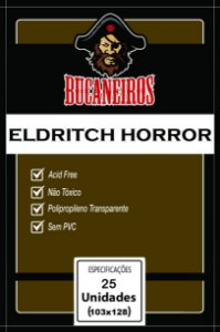 Sleeve Customizado Eldritch Horror 103x128 mm - Bucaneiros