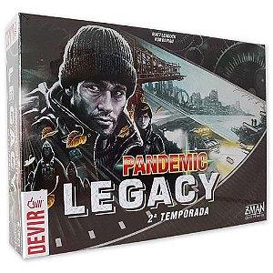 Pandemic Legacy Preto – 2ª Temporada