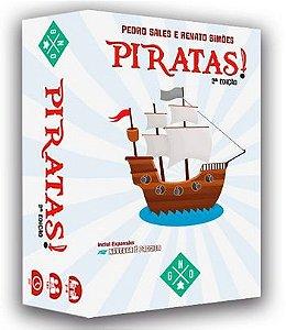 Piratas! 2ª Edição + Playmats
