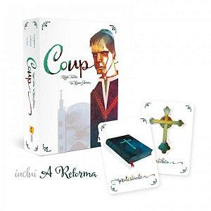 """Coup - 2ª Edição (Inclui """"A Reforma"""") + Promo Pack"""