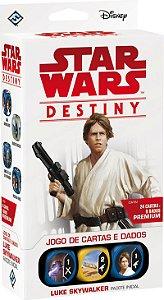 Star Wars Destiny - Luke Skywalker Pacote Inicial