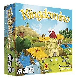 Kingdomino + Bloco Pontuação + Castelo Princesa + Torre Peças