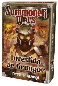 Summoner Wars Investida de Grungor (Pacote de Reforço)