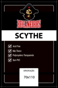 Sleeve Customizado Scythe 70x110 mm - Bucaneiros