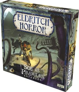 Eldritch Horror - Sob as Pirâmedes