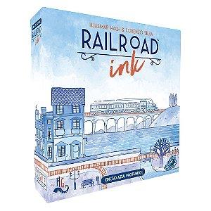 Railroad Ink Edição Azul Profundo