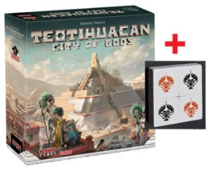 Teotihuacan City of Gods + Pyramid Tile Promo