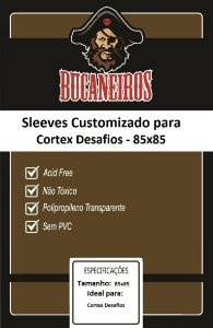 Sleeve Customizado 85x85 mm - Bucaneiros