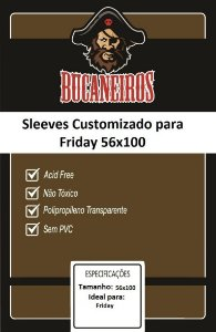 Sleeve Customizado 56x100 mm - Bucaneiros