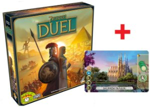 7 Wonders Duel + Carta Promocional Sagrada Familia
