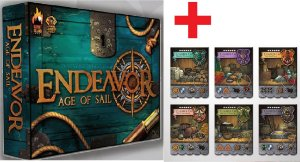 Endeavor Age of Sail + Mini Expansão Charter Companies