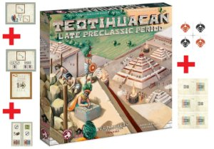 Teotihuacan Late Preclassic Period + Insert + 5 Promos