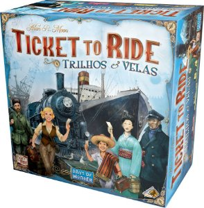 Ticket to Ride Trilhos e Velas