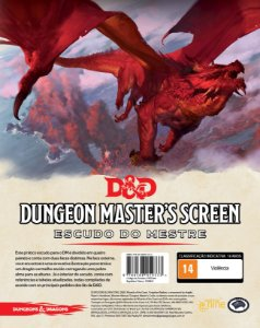 Dungeons and Dragons (5ª Edição) Dungeon Master's  Screen - Escudo do Mestre