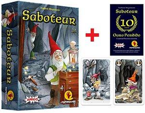 Saboteur + 3 Expansões