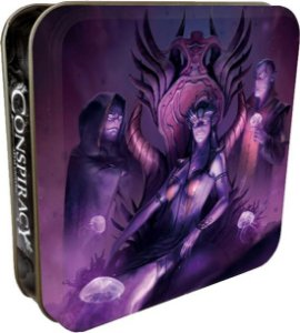 Conspiracy Abyss Universe - Roxo
