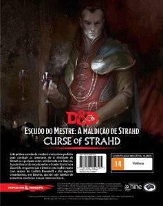 Dungeons and Dragons (5ª Edição) A Maldição de Strahd - Escudo do Mestre