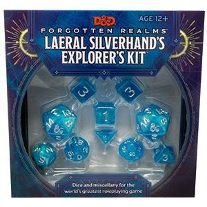 D&D: Forgotten Realms Laeral Silverhand's Explorers Kit (Inglês)