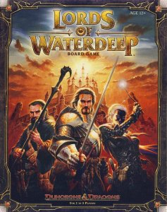 Lords of Waterdeep Board Game (Inglês)