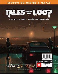 Tales from the Loop – Escudo do Mestre e Mapas (Pré-Venda)