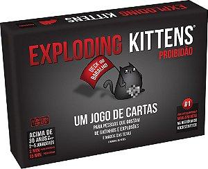 Exploding Kittens Proibidão (Pré-Venda)