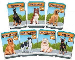 Dogs Card Game 7 Raças Adicionais
