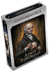 Vampiro A Máscara - Herança Exp. 1 Almas Tortuosas (Pré-Venda)