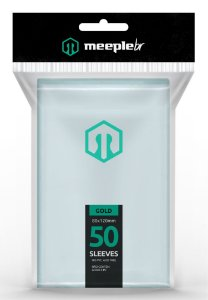 Sleeve Gold 80x120 mm - MeepleBR