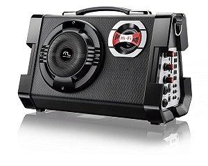 MP3 Active Sound System Multilaser 6 Em 1 Portátil Preto - SP191