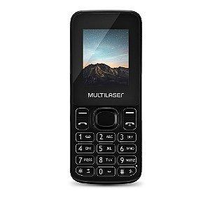 Celular New Up Dual chip com Câmera e Bluetooth MP3 Preto Multilaser - P9032