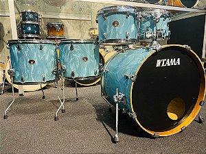 Bateria Tama Silverstar Turquoise Satin Haze 22 10 12 14 16