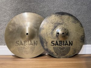 "Prato Sabian AA Fusion Hi Hat 13"""