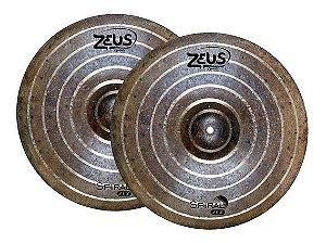 "Prato Zeus Spiral Hi Hat 15"""